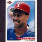 1996 Score Baseball #348 Juan Gonzalez - Texas Rangers