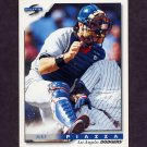 1996 Score Baseball #317 Mike Piazza - Los Angeles Dodgers