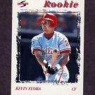 1996 Score Baseball #238 Kevin Flora - Philadelphia Phillies