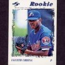 1996 Score Baseball #234 Ugueth Urbina - Montreal Expos