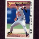 1996 Score Baseball #197 Mike Mussina RR - Baltimore Orioles