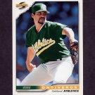 1996 Score Baseball #178 Steve Ontiveros - Oakland A's