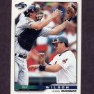 1996 Score Baseball #177 Dan Wilson - Seattle Mariners