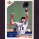 1996 Score Baseball #142 Chris Gomez - Detroit Tigers