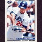 1996 Score Baseball #112 Todd Hollandsworth - Los Angeles Dodgers