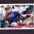 1996 Score Baseball #103 Sandy Alomar Jr. - Cleveland Indians
