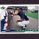 1996 Score Baseball #085 Darryl Hamilton - Milwaukee Brewers