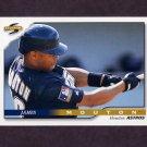 1996 Score Baseball #080 James Mouton - Houston Astros