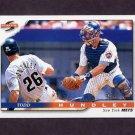 1996 Score Baseball #073 Todd Hundley - New York Mets