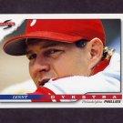 1996 Score Baseball #067 Lenny Dykstra - Philadelphia Phillies