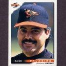 1996 Score Baseball #031 Rafael Palmeiro - Baltimore Orioles