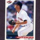 1996 Score Baseball #025 Tim Wakefield - Boston Red Sox