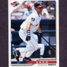 1996 Score Baseball #023 J.T. Snow - California Angels