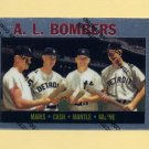 1997 Topps Baseball Mantle Finest Insert #36 Mickey Mantle - New York Yankees