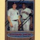 1997 Topps Baseball Mantle Finest Insert #33 Mickey Mantle - New York Yankees