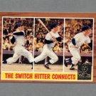 1997 Topps Baseball Mantle Insert #34 Mickey Mantle / 1962 Topps In Action - New York Yankees