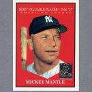 1997 Topps Baseball Mantle Insert #31 Mickey Mantle / 1961 Topps MVP - New York Yankees