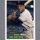 1997 Topps Baseball Mays Insert #09 Willie Mays - New York Giants
