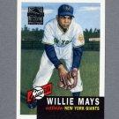 1997 Topps Baseball Mays Insert #03 Willie Mays - New York Giants