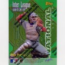 1997 Topps Baseball Inter-League Finest Refractors #ILM02 Mike Piazza / Tim Salmon