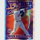 1997 Topps Baseball Season's Best #SB05 Chuck Knoblauch - Minnesota Twins