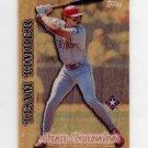 1997 Topps Baseball Team Timber #TT10 Juan Gonzalez - Texas Rangers