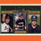 1997 Topps Baseball #490 Wes Helms / Bill Mueller RC / Brad Seitzer