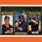 1997 Topps Baseball #488 Ben Grieve / Richard Hidalgo / Scott Morgan