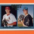 1997 Topps Baseball #477 Braden Looper RC / John Patterson RC