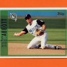 1997 Topps Baseball #454 Kurt Abbott - Florida Marlins