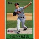 1997 Topps Baseball #445 Denny Neagle - Atlanta Braves