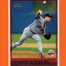 1997 Topps Baseball #439 Dave Stevens - Minnesota Twins