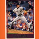 1997 Topps Baseball #431 Mike James - California Angels