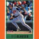 1997 Topps Baseball #419 Jeff Blauser - Atlanta Braves