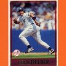 1997 Topps Baseball #411 Cecil Fielder - New York Yankees