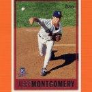 1997 Topps Baseball #399 Jeff Montgomery - Kansas City Royals