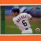 1997 Topps Baseball #381 Carlos Baerga - New York Mets