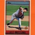 1997 Topps Baseball #375 Mike Mussina - Baltimore Orioles