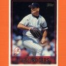 1997 Topps Baseball #372 Kenny Rogers - New York Yankees