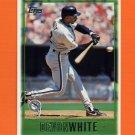 1997 Topps Baseball #359 Devon White - Florida Marlins