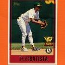 1997 Topps Baseball #344 Tony Batista - Oakland A's