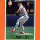 1997 Topps Baseball #343 T.J. Mathews - St. Louis Cardinals