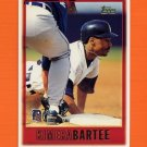 1997 Topps Baseball #309 Kimera Bartee - Detroit Tigers