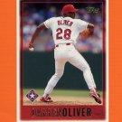 1997 Topps Baseball #303 Darren Oliver - Texas Rangers