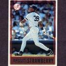 1997 Topps Baseball #282 Darryl Strawberry - New York Yankees
