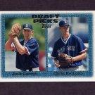 1997 Topps Baseball #273 Chris Reitsma RC / Josh Garrett RC - Boston Red Sox