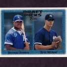 1997 Topps Baseball #272 Dermal Brown RC / Eric Milton RC