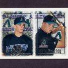 1997 Topps Baseball #249 Nick Bierbrodt RC / Kevin Sweeney RC - Arizona Diamondbacks