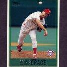 1997 Topps Baseball #242 Mike Grace - Philadelphia Phillies