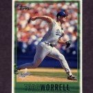 1997 Topps Baseball #226 Todd Worrell - Los Angeles Dodgers